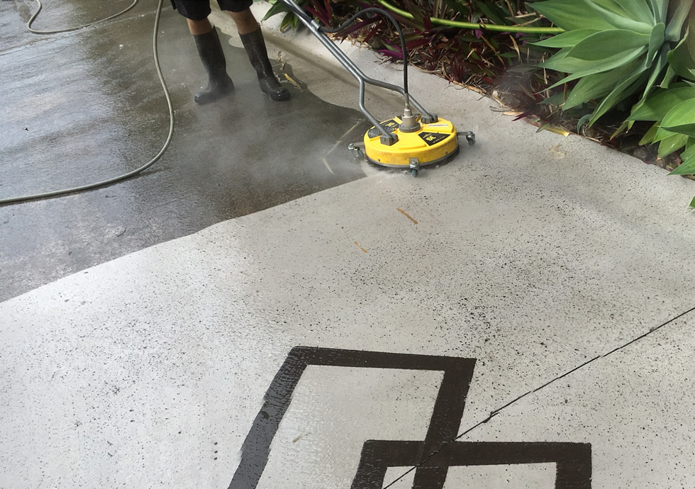 Sunshine Coast outdoor Driveway cleaning Services